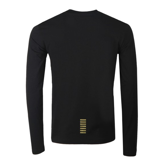 EA7 Emporio Armani Mens Black Core LS T-Shirt main image