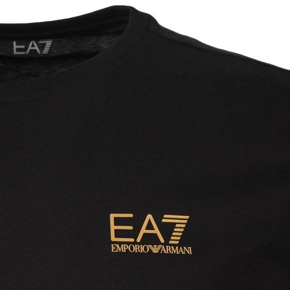 EA7 Emporio Armani Mens Black Core T-Shirt