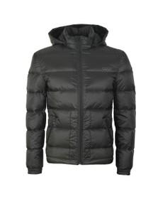 HUGO Mens Black Balin1941 Puffer Jacket