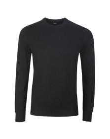 BOSS Mens Black Casual Albonoko Jumper
