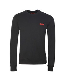 HUGO Mens Black Drick 194 Sweatshirt