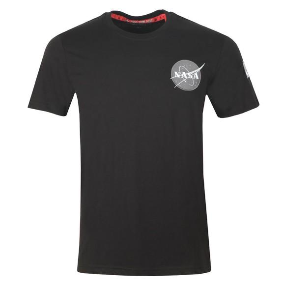 Alpha Industries Mens Black Space Shuttle T Shirt main image