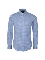 Slim Fit Check Oxford Shirt