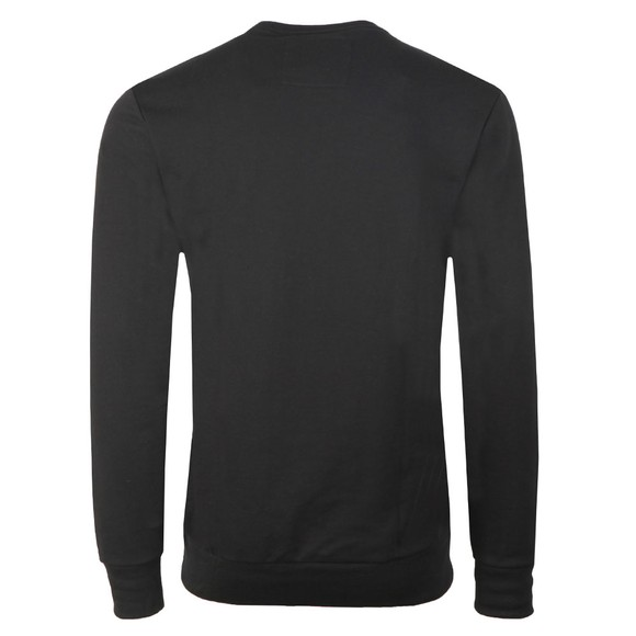 True Religion Mens Black Embroided Large Logo SweatShirt main image