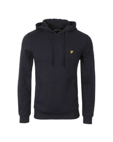 Lyle and Scott Mens Blue Pullover Hoodie