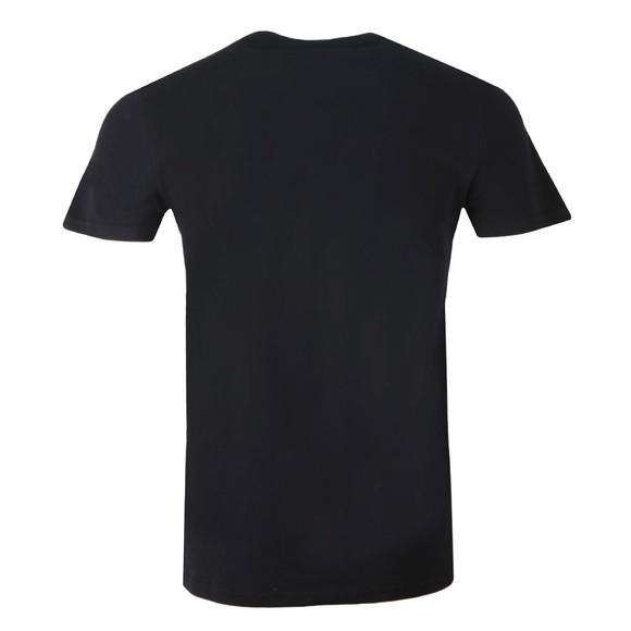 Superdry Mens Black Vintage Logo Camo Mid Tee main image