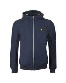 Lyle and Scott Mens Blue Softshell Jacket