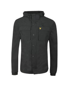 Lyle and Scott Mens Black Pocket Jacket
