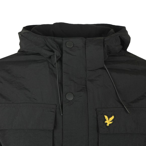 Lyle and Scott Mens Black Pocket Jacket main image