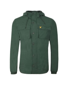 Lyle and Scott Mens Green Pocket Jacket