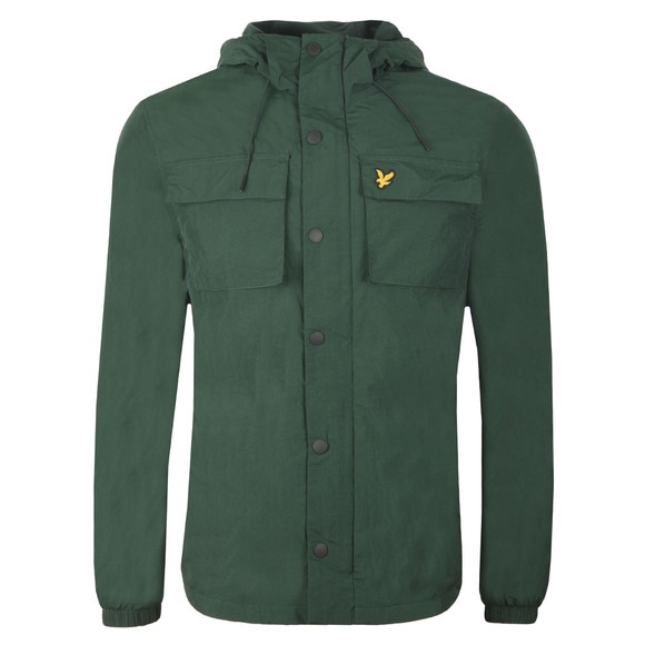 Lyle and Scott Mens Green Pocket Jacket main image