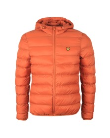 Lyle and Scott Mens Brown Lightweight Puffer Jacket