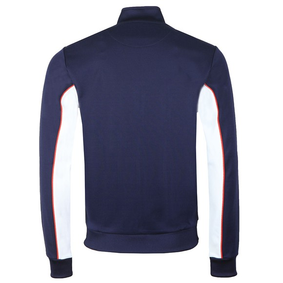 Lyle and Scott Mens Blue Colourblock Track Jacket main image