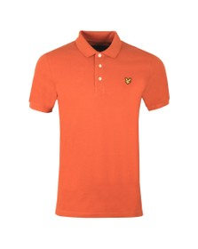 Lyle and Scott Mens Brown Plain Polo