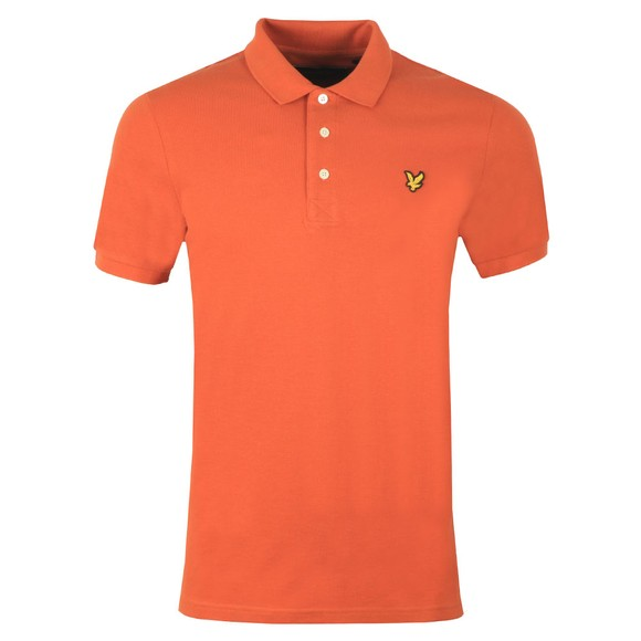 Lyle and Scott Mens Brown Plain Polo main image