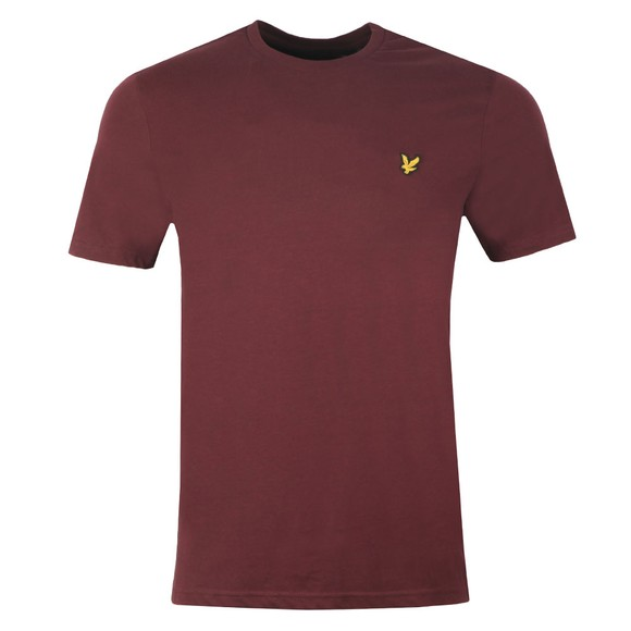 Lyle and Scott Mens Red Basic Tee main image
