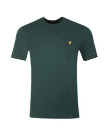 Lyle and Scott Mens Green Basic Tee