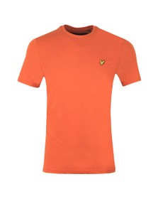 Lyle and Scott Mens Brown Basic Tee