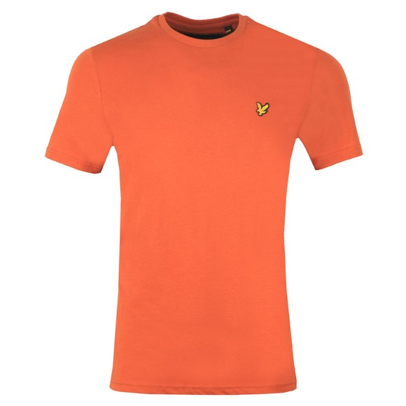 Lyle and Scott Mens Brown Basic Tee main image