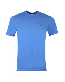 Lyle and Scott Mens Blue Basic Tee