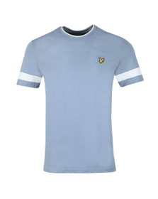 Lyle and Scott Mens Blue Tipped Tee