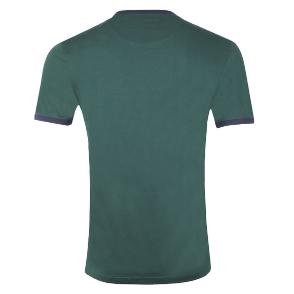 Lyle and Scott Mens Green Ringer Tee main image