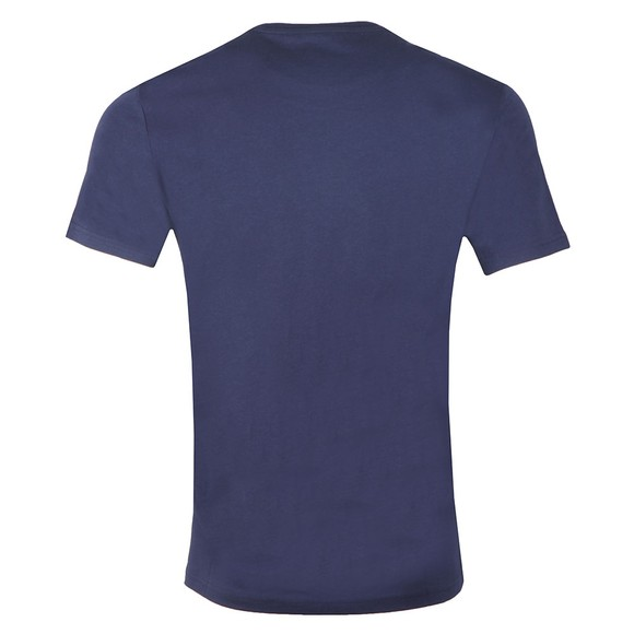 Lyle and Scott Mens Blue Logo Tee main image