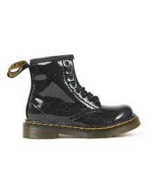 Dr. Martens Girls Black 1460 Glitter Boot