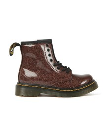 Dr. Martens Girls Brown 1460 Glitter Boot