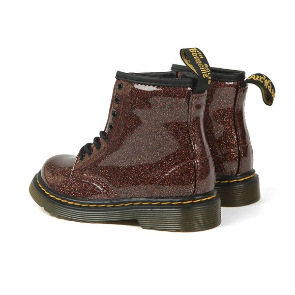 Dr. Martens Girls Brown 1460 Glitter Boot main image