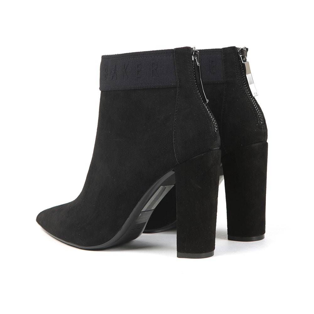 Prenom Branded Suede Heeled Boot main image