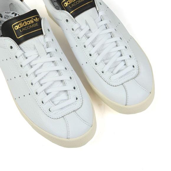 adidas Originals Mens White Lacombe Leather Trainer main image