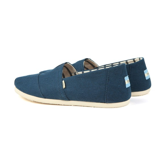 Toms Mens Blue Heritage Canvas main image