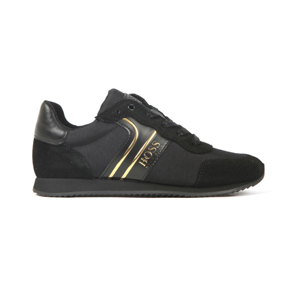 BOSS Boys Black Boys J29184 Trainer
