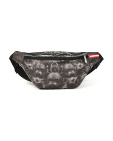 Sprayground Mens Black Pitbulls Crossbody
