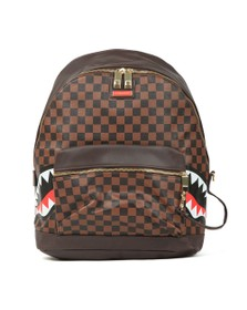 Sprayground Mens Brown Side Sharks In Paris Backpack