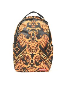 Sprayground Mens Black Palace Of Sharks Backpack