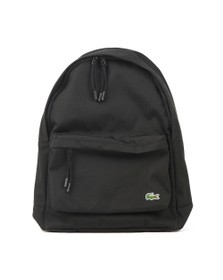 Lacoste Mens Black Backpack