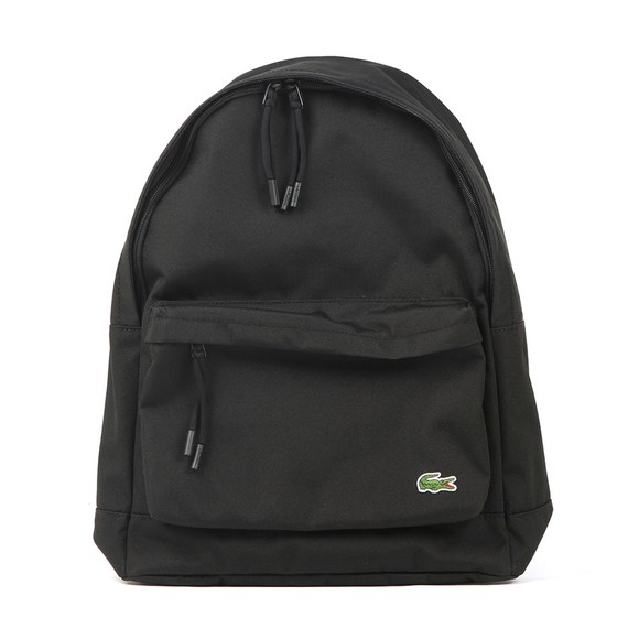 Lacoste Mens Black Backpack main image