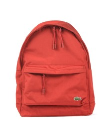 Lacoste Mens Red Backpack