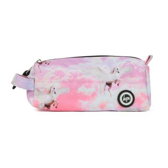 Hype Girls Pink Unicorn Skies Pencil Case