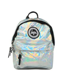 Hype Girls Silver Holo Mini Backpack