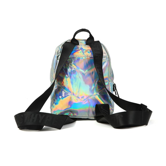 Hype Girls Silver Holo Mini Backpack main image