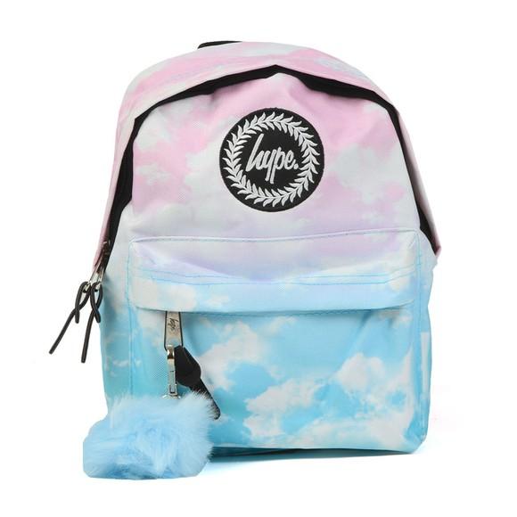 Hype Girls Blue Cloud Fade Mini Backpack main image