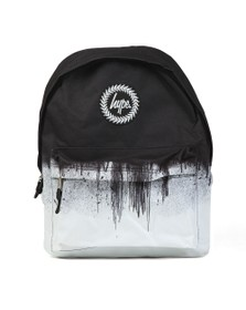 Hype Boys Black Mono Drips Backpack
