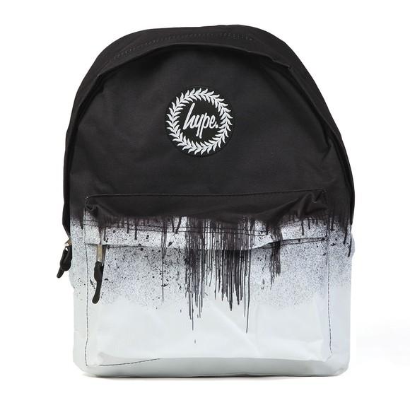 Hype Boys Black Mono Drips Backpack main image