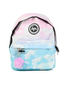 Hype Girls Multicoloured Pastel Clouds Backpack