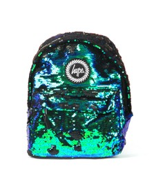 Hype Unisex Green Mermaid Sequin Backapck