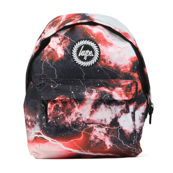 Hype Boys Red Lightning Backpack