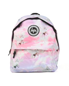 Hype Girls Pink Unicorn Skies Backpack